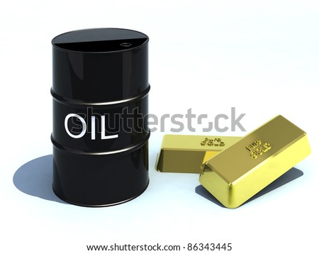 barrel oil like gold bullion