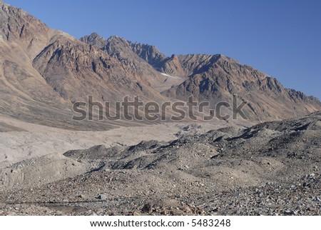 Barren Greenland Landscape - stock photo