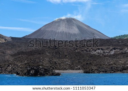 Barren  Island Volcano, Andaman Islands, India