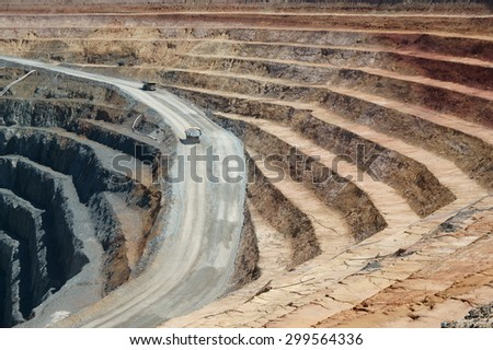 Barrick Gold Mines West Wyalong NSW processing plant extraction