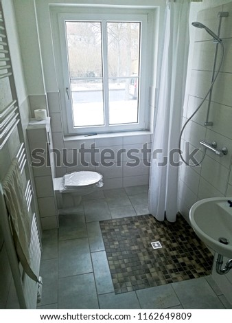 barrier-free Bathroom for People with handicapp Stock foto ©