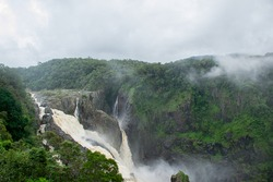 Barron Falls after heavy rain