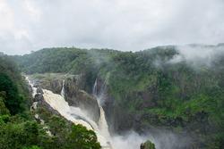 Barron Falls after heavy rain