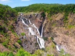 Barron Falls in Barron Gorge National Park - Queensland, Australia