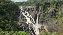 Barron Falls tropical Australia