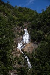 Barron gorge waterfalls in Queensland, Australia