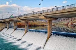 Barzan-Rezan Bridge in Barzan Area, Kurdistan Region, Iraq