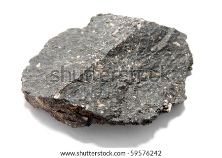 Basalt - a volcanic extrusive rock of mafic composition
