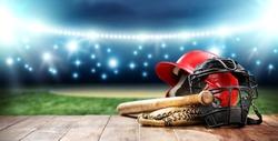 baseball and night time