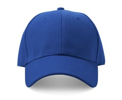 Baseball cap isolated on white background.