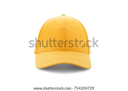 b88844e7f34 Free photos White baseball cap template isolated on black. Front ...