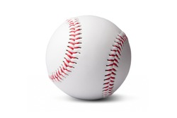 Baseball isolated on a white background