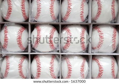 baseballs in the box