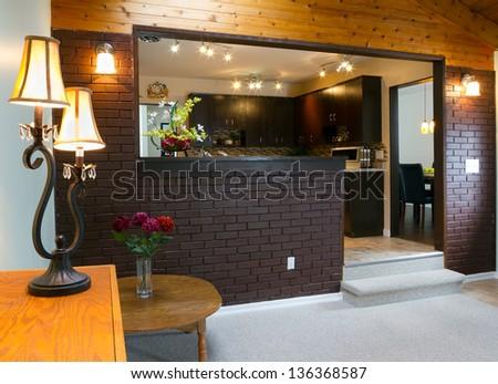 Basement and kitchen Interior design