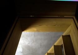 basement hatch with inside light