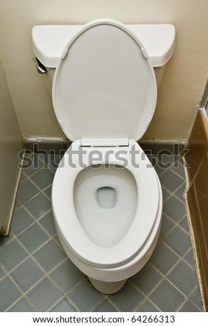 basic American toilet