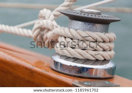Basic Boating Knot #1185961702