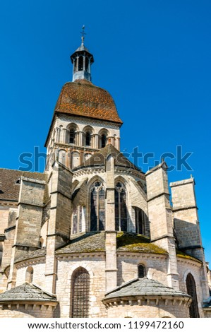 Basilica Notre Dame in Beaune - Burgundy, France #1199472160
