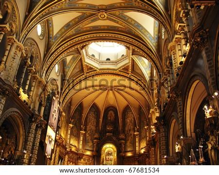 Basilica of Montserrat (Catalonia, Spain)