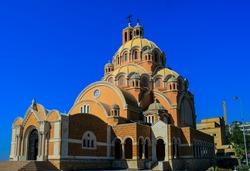 Basilica of Saint Paul near Harissa mount at Lebanon