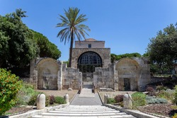 Basilica of San Saturnino in Cagliari, Italy. The oldest church in Cagliari , dedicated to the patron saint of the city.