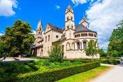 Basilica of St. Castor or Kastorkirche is the oldest church in Koblenz, Germany