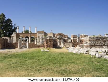 Basilica of St. John, Turkey