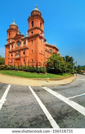 Basilica of St. Lawrence, Asheville, North Carolina, USA.