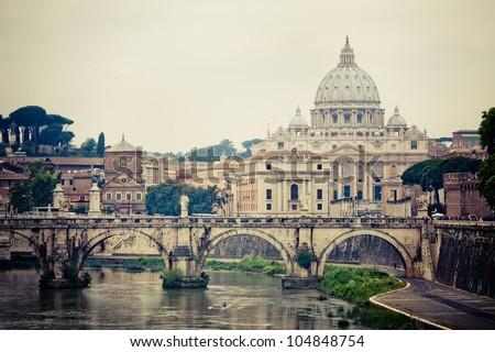 Basilica Sant Pietro ,Vatican, Rome, Italy.