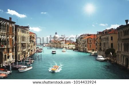 Basilica Santa Maria della Salute, Venice, Italy #1014433924