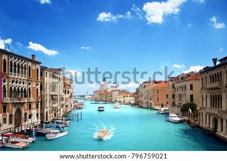 Basilica Santa Maria della Salute, Venice, Italy #796759021