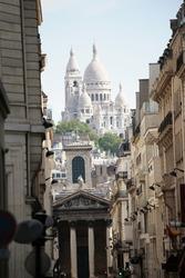 Basilique of Sacre Coeur, Montmartre, Paris, France