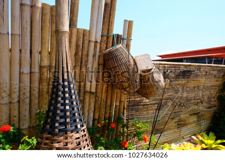 basket and fish trap from...