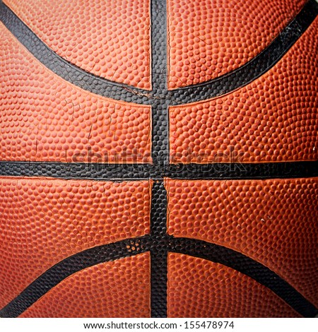 Basket ball texture