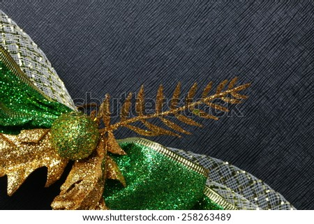 Basket decoration ribbon represent the decoration material for gift basket.