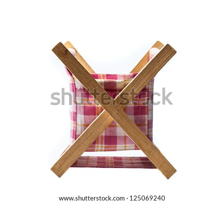 basket in white backgrounds