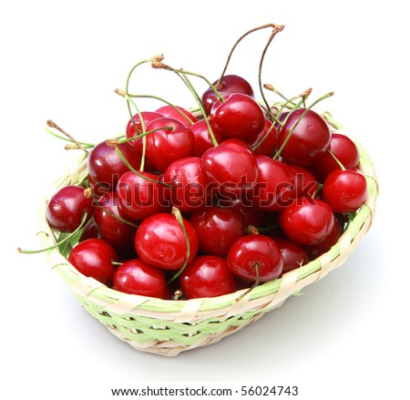 basket of cherry