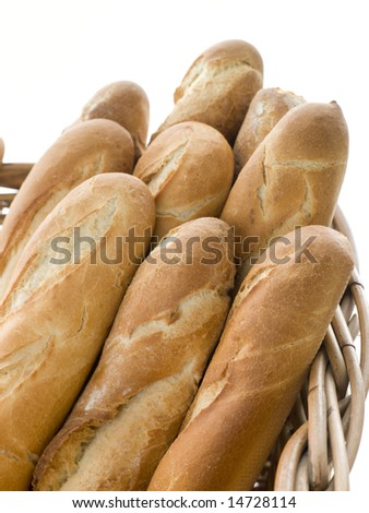 Basket of French Sticks