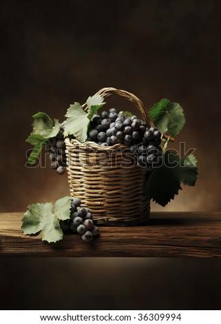 Basket of grape