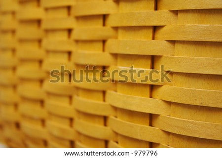Basket Weave Background - stock photo