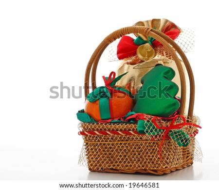 basket xmas gift
