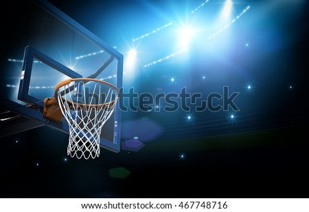 Basketball arena 3d
