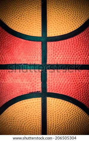 basketball ball texture