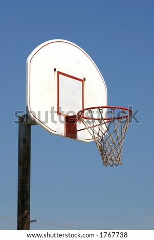 Basketball Goal - stock photo