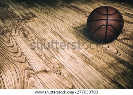 basketball on hardwood 2. a...