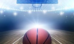 Basketball stadium 3d rendering