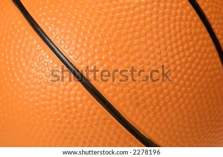 Basketball Textured Background - Textured Surface