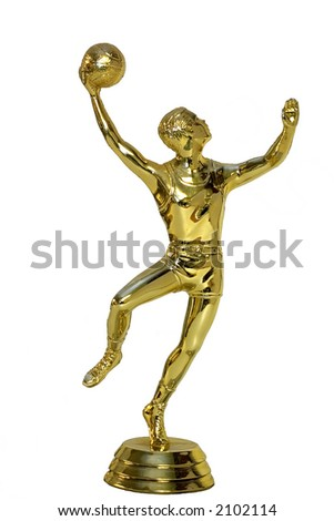 Basketball Trophy- Hook Shot