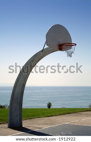 Basketball with a view