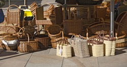basketware and wickerwork for sale